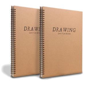 2 Pack A4 Sketchbook