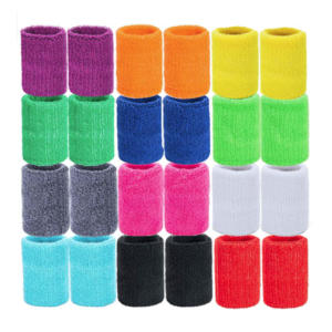 24Pcs Colourful Wristbands