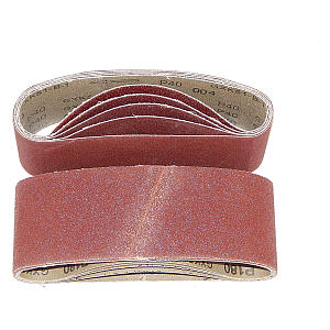 25 Cloth-Backed Sanding Belts