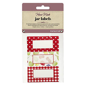 30 Home Made Jam Jar Labels