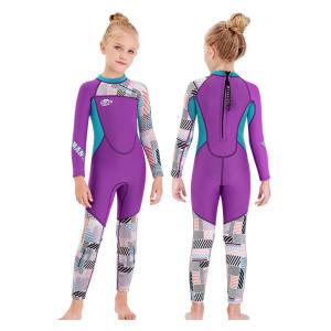 Gogokids Girls Wetsuit Kids Thermal Swimsuit