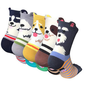 5 Pairs Womens Cute Animal Socks