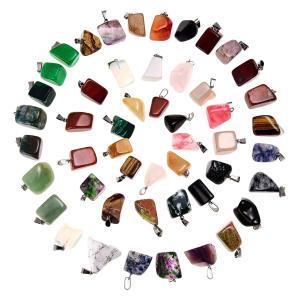 50 Mixed Healing Stone Beads