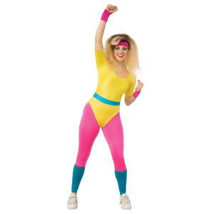 Novelty Aerobics Girl Costume