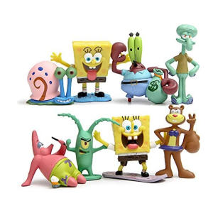 Cute Spongebob Cartoon Dolls