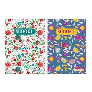 A5 Floral Sudoku Travel Size Books