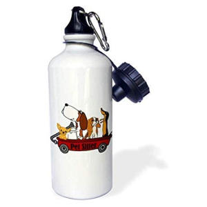 Funny Pet Sitter Water Bottle