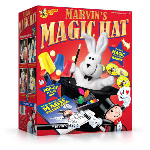 Amazing Magic Rabbit and Top Hat