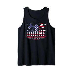 American Flag RC Drone Vest Top