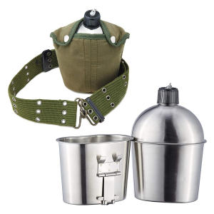 Army Stainless Steel Canteen