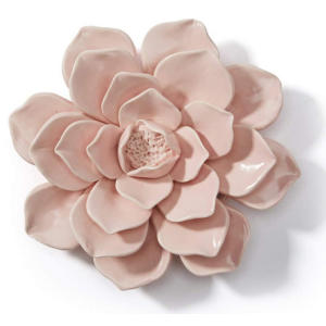 Artificial Flower 3D Wall Decor