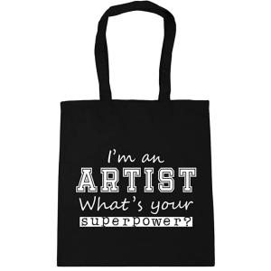 Novelty Artist Canvas Tote Bag