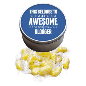 Awesome Blogger Sweet Tin