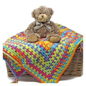 Baby Blanket Crochet Kit