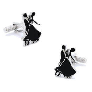 Ballroom Dancing Cuff Links