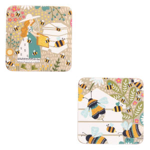 Bee Keeper Coaster Pk4