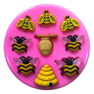 Beekeeping Cake Decorating Topper Mold