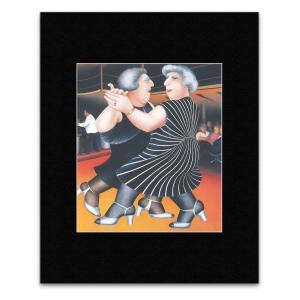 Beryl Cook Ballroom Dancing Poster