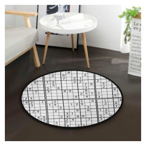 Black And White Sudoku Mat