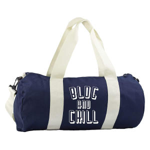 Blog and Chill Gym Duffle Bag