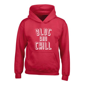 Blog and Chill Kids Hoodie