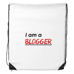Blogger Drawstring Backpack