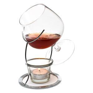 Brandy & Cognac Warmer Glass with Tealight