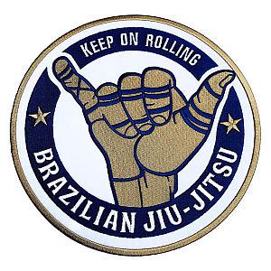 Brazilian Jiu Jitsu Embroidered Badge