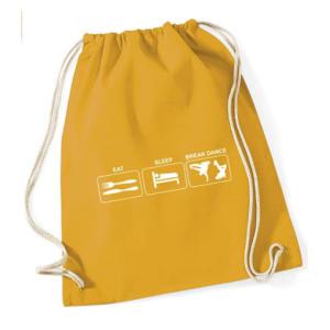 Break Dance Drawstring Bag