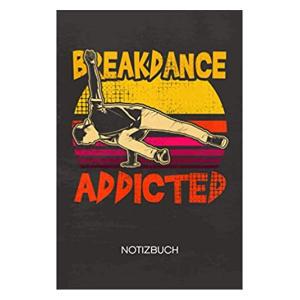 Break Dancing Notebook