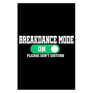 Breakdance Notebook