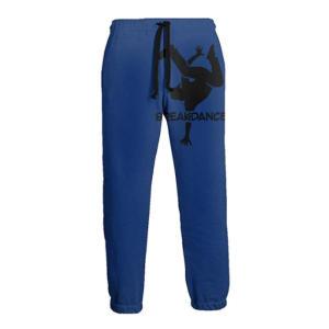 Breakdance Silhouette Mens Athletic Pants