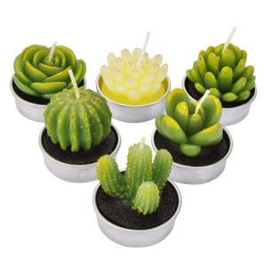 Cactus Tealight Candle