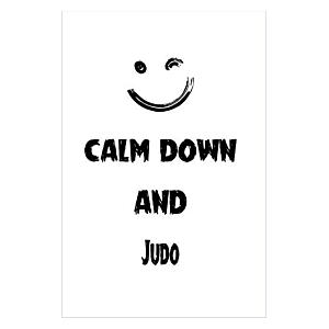 Calm Down And Judo Notebook
