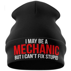 Novelty Mechanic Beanie Hat
