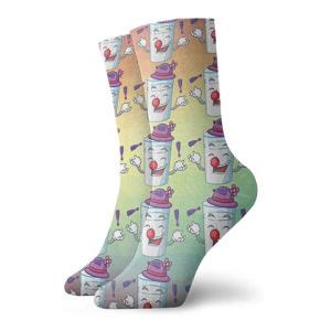 Cartoon Juggling Socks