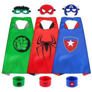 Cartoon Superhero Capes for Kids