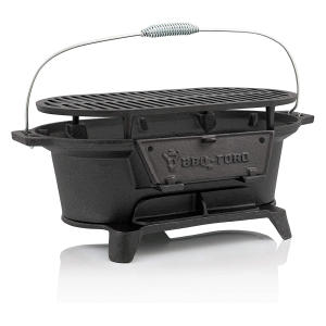 Cast Iron Barbecue with Cooking Grate