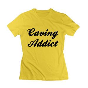 Caving Addict Women's T Shirts