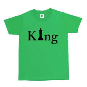 Chess King Kid's T Shirt
