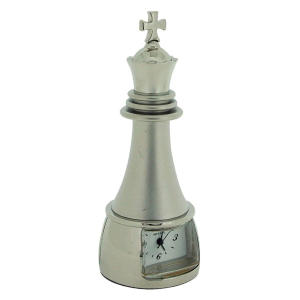 Chess King Piece Clock