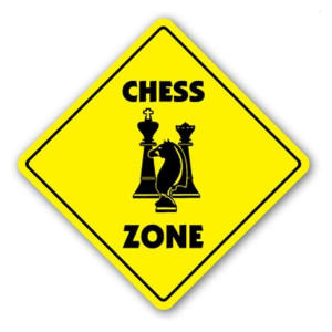 Chess Zone Plaque