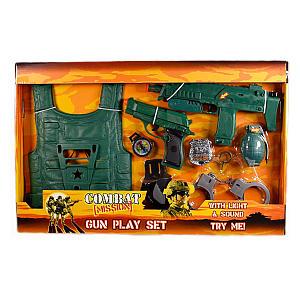 Children's Military Toy Gun Set