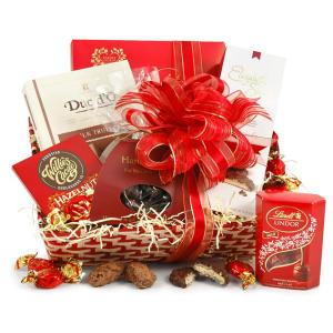 Chocolate Lovers Hamper Basket
