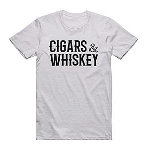 Cigars and Whiskey Men's T-Shirt