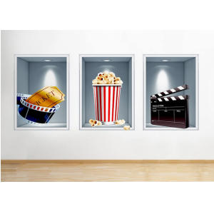 Cinema Wall Art Stickers