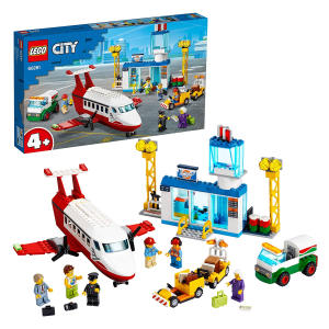 City 4+ Central Airport Playset