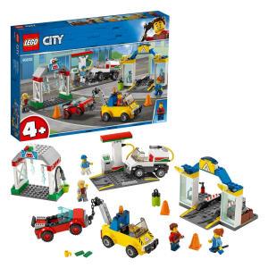 City Town Garage Center Cars Set