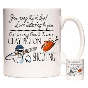 Clay Pigeon Shooting Mug