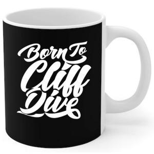 Born To Cliff Dive Mug